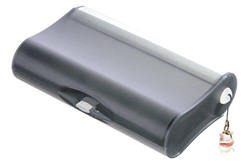 HAN Cool 996-69 Storage Case 3 Compartments Polypropylene 210 x 125 x 51 mm Translucent Grey