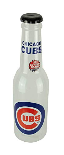(Maurice Sporting Goods MLB Chicago Cubs Jumbo Bottle Coin Bank 21 inch)