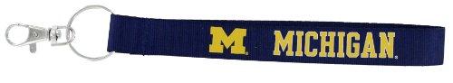 NCAA Michigan Wolverines Wristlet Key Ring