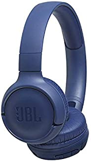 Fone de ouvido Bluetooth, Azul T500BTBLU JBL