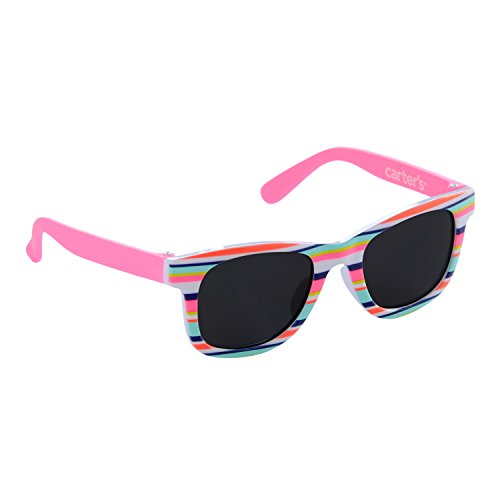 Carter's Baby Girl Sunglasses, Pink Strip, ()