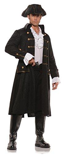Underwraps Men's Pirate Captain Darkwater Costume by Underwraps