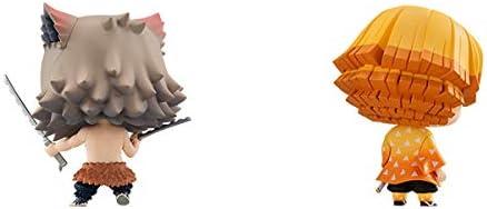 ちみメガ バディシリーズ! 鬼滅の刃 我妻善逸&嘴平伊之助 あがつまぜんいつ はしびらいのすけ セット 約65mm PVC製 塗装済み完成品フィギュア