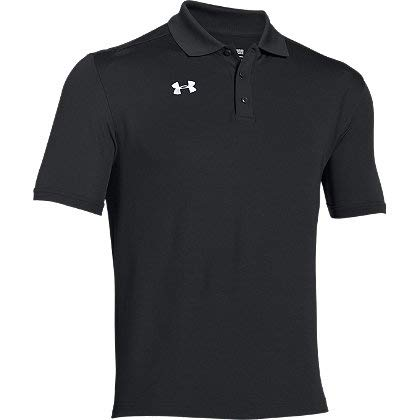 Under Armour Team Armour Men's Golf Polo (Black, Small)