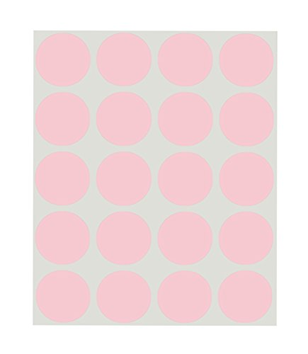 (1 inch Library-School Labels for Books/Classrooms (Pink))