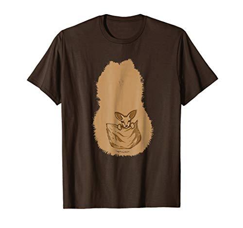 Kangaroo Animal Zoo Costume T-Shirt -