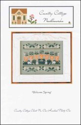 Cross Stitch Chart Welcome (Welcome Spring Cross Stitch Chart)