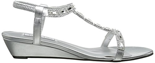 Touch Ups Women's Jazz Wedge Sandal Silver J1WR1O3M