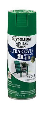 Painters Touch 249100 12 Oz Meadow Green Gloss Ultra Cover Spray Paint