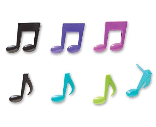 CakePicke-cake-cupcake-topper-Music-Notes-Cupcake-Picks-12-Ct
