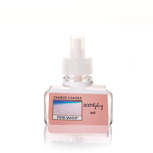 Floral Woody Scent (Yankee Candle Pink Sands Scent-Plug Air Freshener Refill, Fresh Scent)