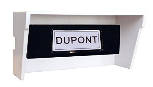 vente tibelec 937230 visire de protection universelle pour bouton de sonnettecarillon. Black Bedroom Furniture Sets. Home Design Ideas