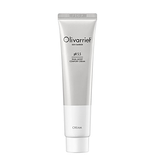 Olivarrier Dual Moist Comfort Cream 2.53 fl.oz.Unscented Nourishes and Moisturizes.pH Skin Balanced. Stengthens Natural Protective Barrier.For All Skin Types even Sensitive Skin. Crueltyfree and Vegan