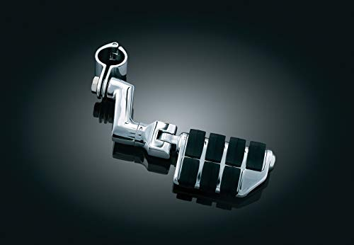 Kuryakyn 7993 Motorcycle Foot Controls: Offset Dually ISO Highway Pegs with Magnum Quick Clamps for 1-1/4