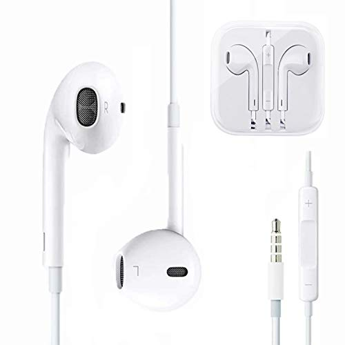 Earbuds/Headphones/Earphones,3.5mm Wired Headphones Noise Isolating with Built-in Microphone &Volume Control Compatible iPhone6s/plus/6/5c/ipad/Samsung/Android/Mp3 MP4