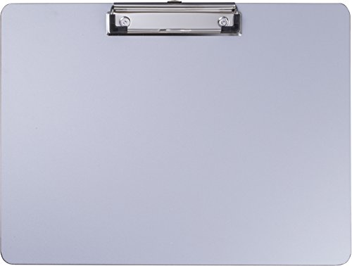 - Officemate Aluminum Coated Plastic Clipboard, Landscape Size, 11
