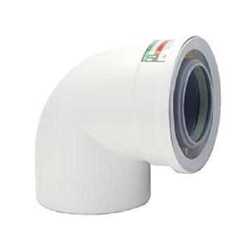 Rinnai 224078pp 90 degree condensing vent pipe elbow pipe fittings rinnai 224078pp 90 degree condensing vent pipe elbow publicscrutiny Choice Image