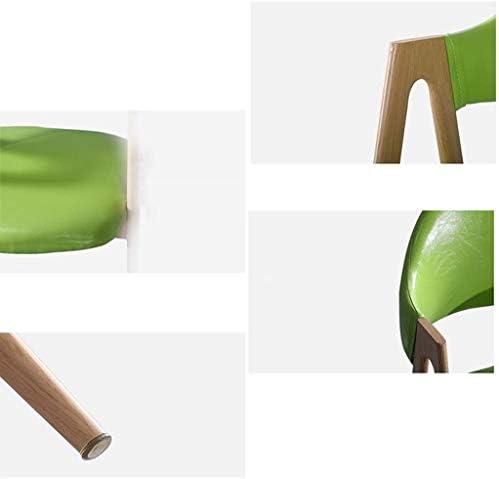 QTQZDD Fauteuil de Dossier, Tissu coloré, Chaise de Bureau Respirante, Chaise de Bureau pour Chambre à Coucher, Chaise de Bureau Iron Art pour Salle de réunion (Couleur: # 1)