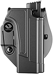 Orpaz Sig p320 Holster Fits Sig Sauer p320 and Sig P250 Full Size and Compact (Right Hand, Level 2 Thumb Relea