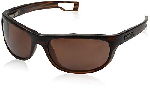 Hobie Men's Cruz-R-A191928 Polarized Oval Sunglasses, Satin Brown Wood Grain, 64 - Hobie Woody Sunglasses