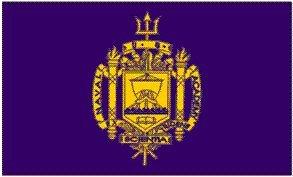 (RFCO United States Naval Academy Polyester 3x5 Foot Flag USNA USN Midshipmen Navy MD)