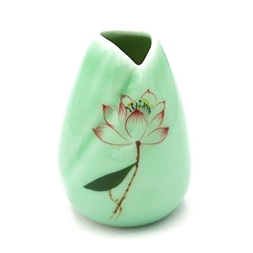 Preamer Creative Home Decoration Small Table Celadon Ceramic - Ceramic Celadon Vase
