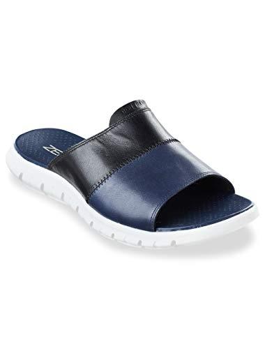 (Cole Haan ZER Grand Slide Sandals Navy Black)