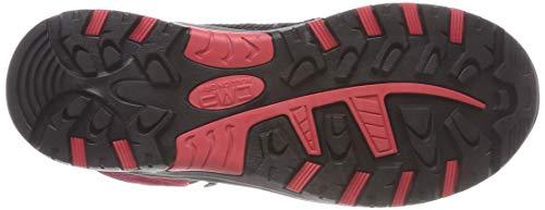 High Cmp Unisex Rojo Senderismo corallo Rigel De 72bm granita Rise Mid Zapatos qrgrIw0a