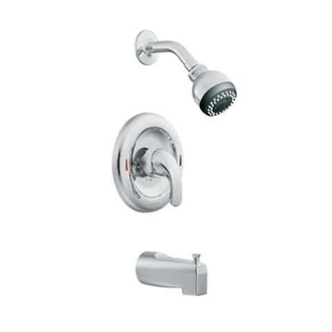 Moen L82694srn Adler One Handle Tub And Shower Faucet, Brushed Nickel (Moen Fauct)