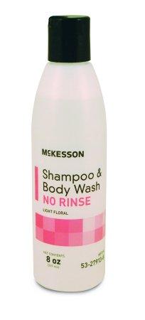 Shampoo No-Rinse 8Oz 48/Cs by McKesson