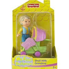 Fisher Price Baby First Doll And Stroller - 4