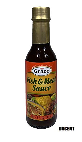 Grace Caribbean Sauce, Fish/Meat, 4.8 oz