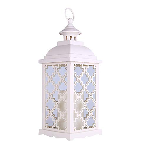 Battery Candle - Lantern Hanging Candlestick Party Decorations Christmas Candle Decor Vintage - Holder Degree Lantern Garden Rattan Shower Charger Hanging Plant Living Cake Shade Table Chi ()