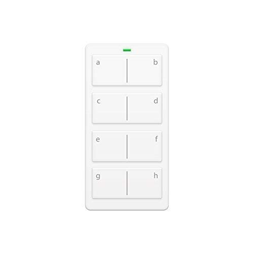Insteon 2342-222 Mini Remote 8-Scene Keypad - Controls On/Off & Dimming, Rechargeable Battery (White) ()