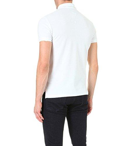 Ralph Lauren Herren A12KS13MC0004A1000 Weiss Baumwolle Poloshirt