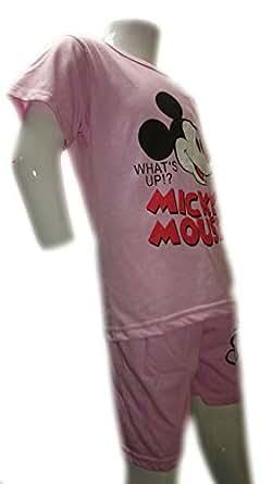 Sleepwear For Girls 6-7 Years, Pink - Pajamas