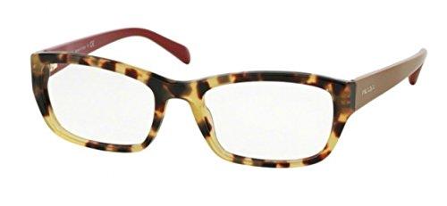 Eyeglasses Prada 18OV Tortoise Square -