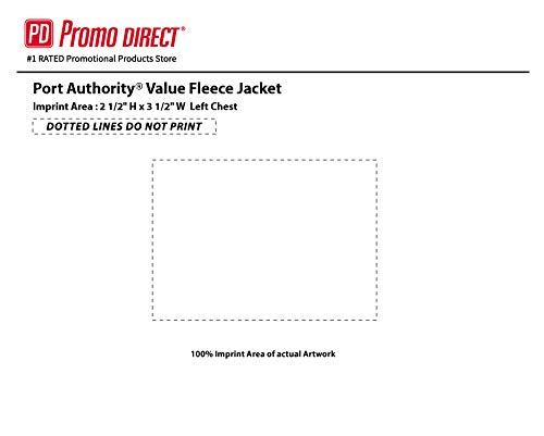 Value Fleece Jacket | 36 Qty | 36.66 Each | Promotional Jacket Your Logo |