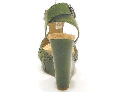 Vic , Sandales pour femme Vert Verde