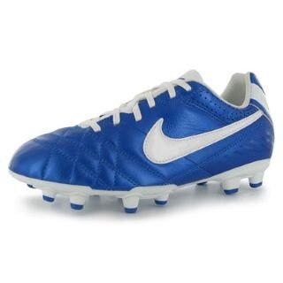 NIKE Nike jr tiempo natural iv ltr fg zapatillas red fubol chico