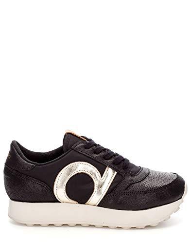 016 Duuo Femme High Noir black Sneakers Basses Prisa f7fxwS0q
