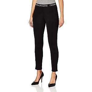 Calvin Klein Jeans Logo Elastic Milano Leggings Pantalons Femme