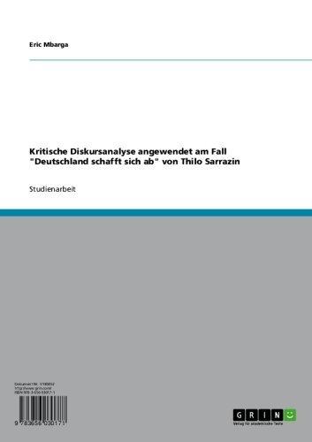 Deutschland Schafft Sich Ab Ebook