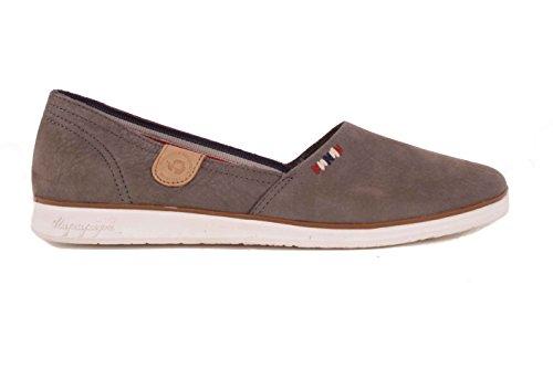 femme basses NAPAPIJRI Mocassins FIA foncé Chaussures femmes gris chaussures qx44TXa