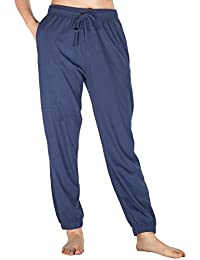Womens Pajama Pants Cotton Sleep Pants Stretch Knit Lounge Pants with  Pockets 699ede869