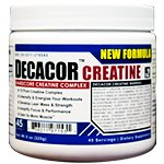 Decacor - Creatine Supplement, Build Muscle, Lean Mass, Focus, Performance, Energy, Strength