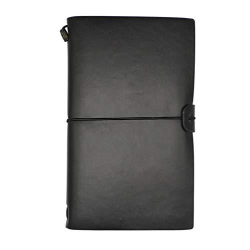 VIGOROSO Journal Note Book Classic Diary Handmade Soft Cover Flexible Leather Travel -