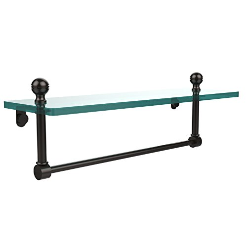 TB-ORB 16-Inch Single Shelf with Towel Bar, Oil Rubbed Bronze ()