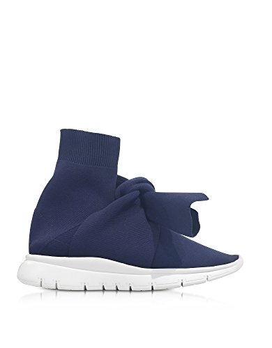 Joshua Schuurmachines Damen 10495bluesocks Blau Polyamide Slip Op Sneakers