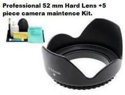 Duro Pro 52 mm ES-62 Parasol para Canon EF 50 mm f/1,8 II Lente ...
